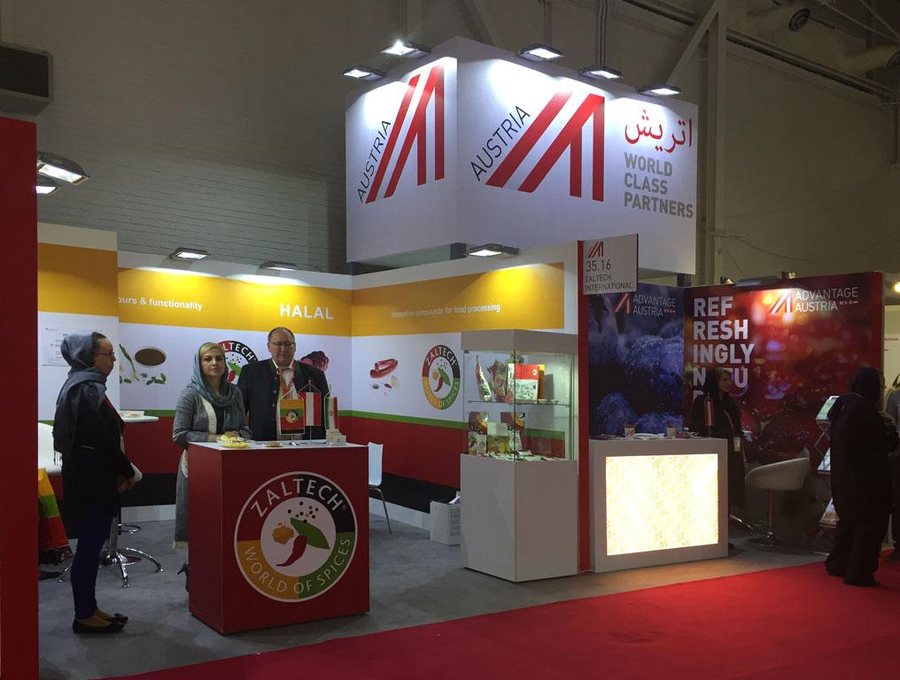 Austria Pavilion | Iran AgrooFood 2018