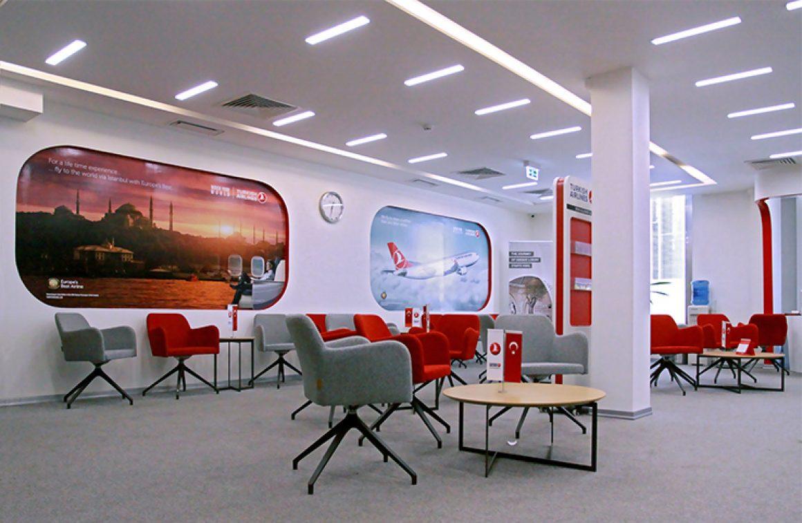 Turkish Airlines | Office Branding | Tehran برندینگ اداری | دفتر ترکیش ایرلانز | تهران