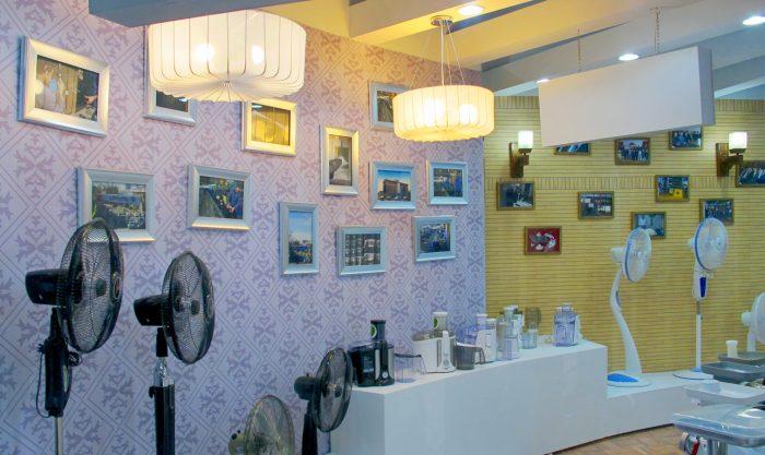 غرفه پارس خزر | نمایشگاه لوازم خانگی / تهران
