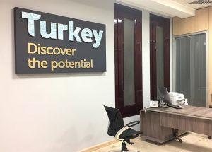 دکوراسیون اداری و شوروم های ساختمان تجاری ترکیه در تهران